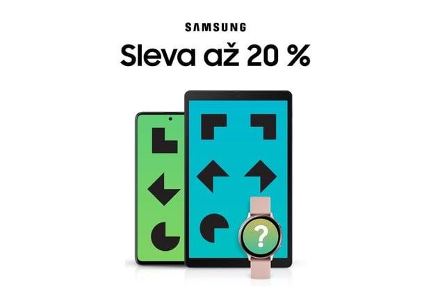 Samsung vypustil slevové kódy. Smartphony a tablety koupíte až o 20 % levněji