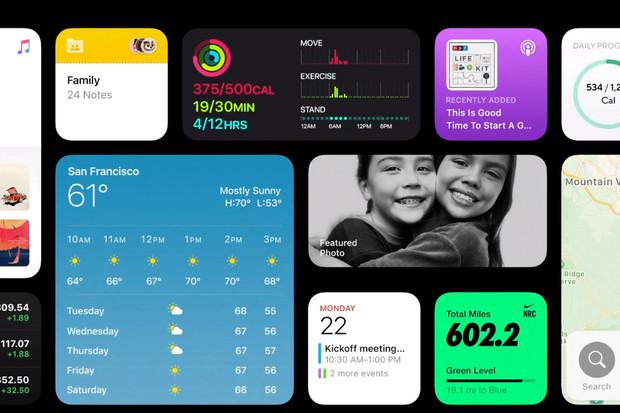Apple představil iOS 14 s vylepšenými widgety, chytřejší Siri a App Clips