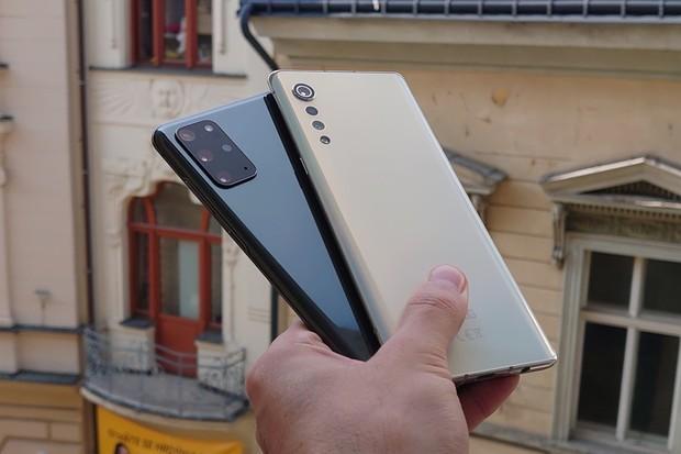 Fotoduel: Samsung Galaxy S20+ vs. LG Velvet