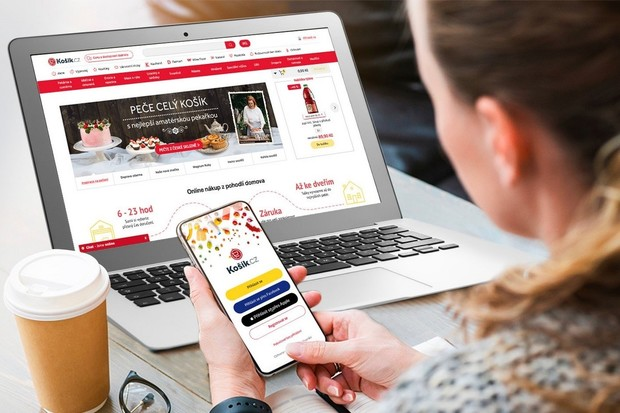 """Košík.cz umí """"Sign In With Apple"""", s appkou je první mezi online supermarkety"""