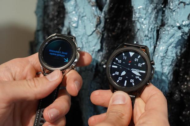 Samsung Galaxy Watch3 naživo: chytré, ale také elegantní hodinky pro manažery