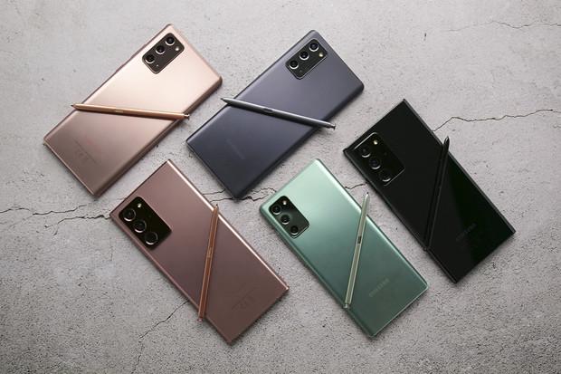 Změna? Samsung údajně s řadou Galaxy Note v roce 2021 počítá