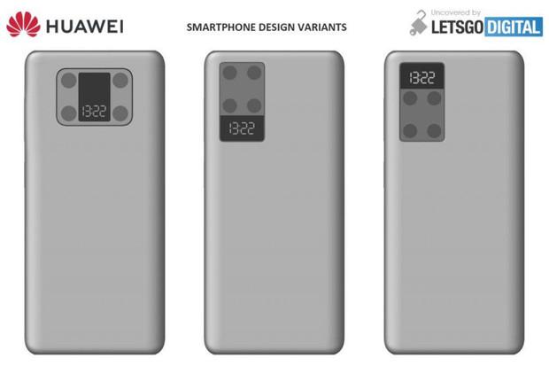 Šílené, nebo geniální? Huawei P50 možná nabídne displej v modulu fotoaparátu