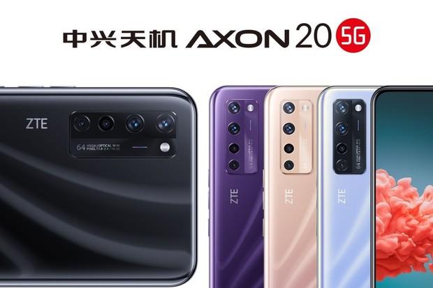 ZTE AXON 20 5G s fotoaparátem pod displejem klepe na dveře. Takhle bude fotit