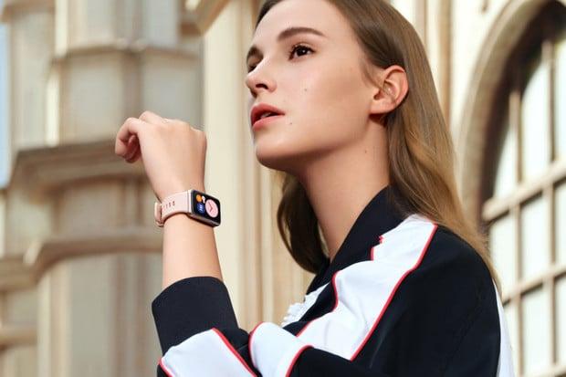 Huawei Watch Fit nabízí velký obdélníkový displej a dlouhou výdrž