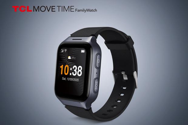 TCL odhalilo chytré hodinky s velkým AMOLED displejem i nová sluchátka s IP54