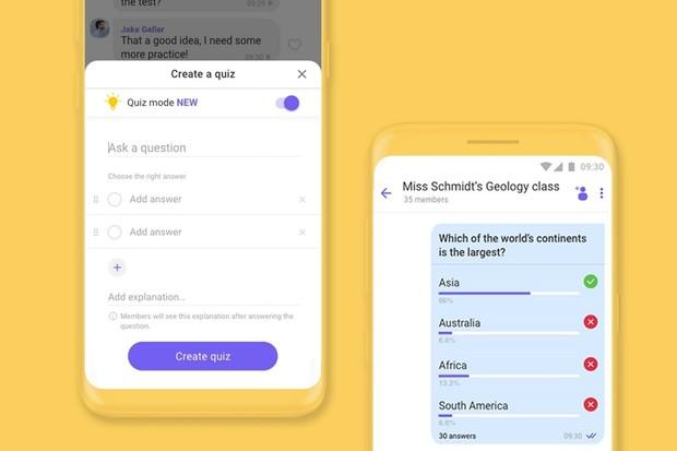 Viber přináší nové funkce, zaměřují se na online vzdělávání