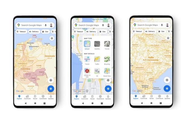 """Google Mapy nově upozorní na místa """"zamořená"""" koronavirem"""