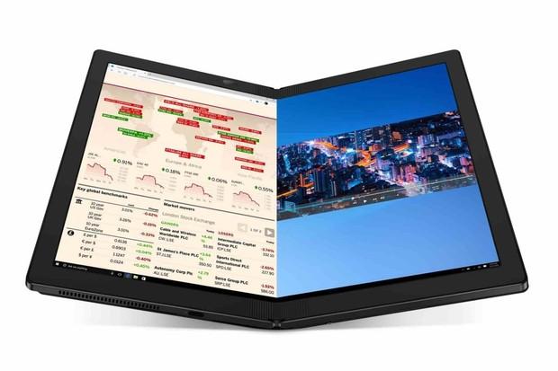 Lenovo ThinkPad X1 Fold jde do prodeje. Ohebný tablet měl velké zpoždění
