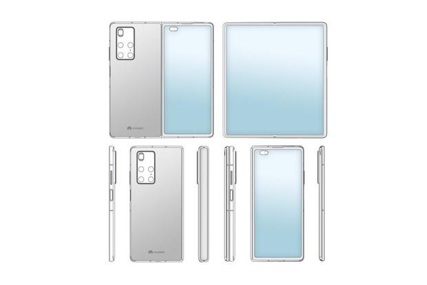 Ohebný Huawei Mate X2 dorazí co nevidět. Designem má připomínat Galaxy Fold