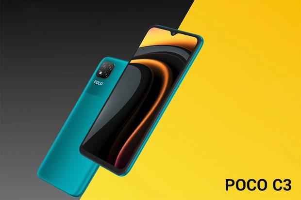 """Poco C3 představuje základ s 6,5""""displejem a velkou baterií"""