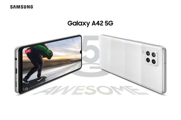 Známe cenu Galaxy A42 5G. Do ČR nejlevnější Samsung s 5G dorazí v listopadu