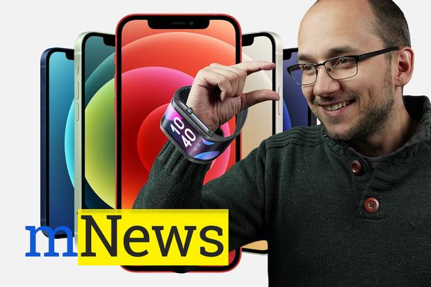 iPhony 12 mini i Pro, OnePlus 8T a bizarní hodinky