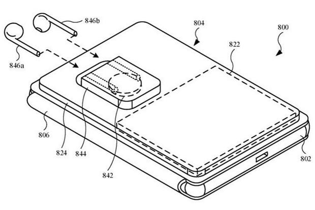 Patent Applu ukazuje MagSafe pouzdro pro nabíjení telefonu a sluchátek