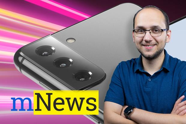 Galaxy S21 změní design, HTC má nový telefon