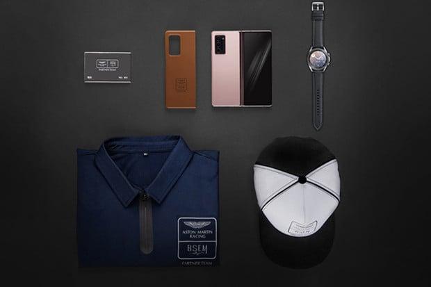 Chcete vidět, jak vypadá luxus? Prohlédněte si Aston Martin edici Galaxy Z Fold2