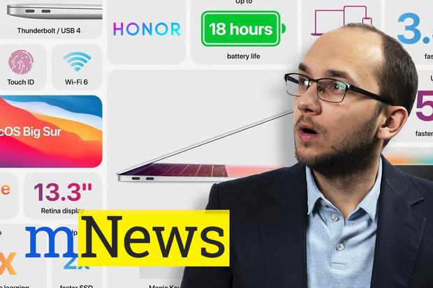 Apple opouští Intel, Huawei zase Honor