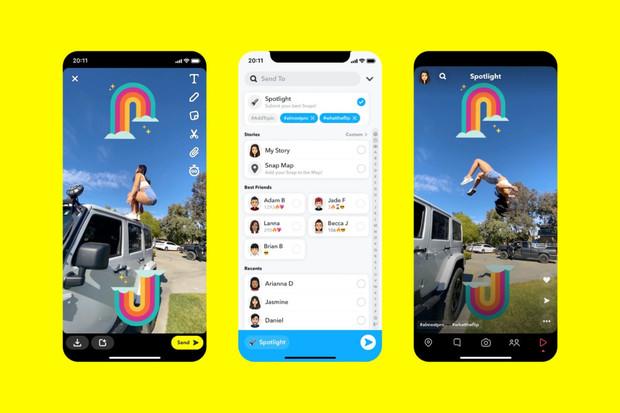 TikToku konkuruje nová funkce Snapchatu! Jmenuje se Spotlight