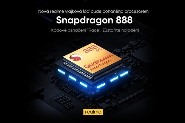 Nejlevnější telefon se Snapdragonem 888? Bude to Realme GT 5G. Cena vás překvapí