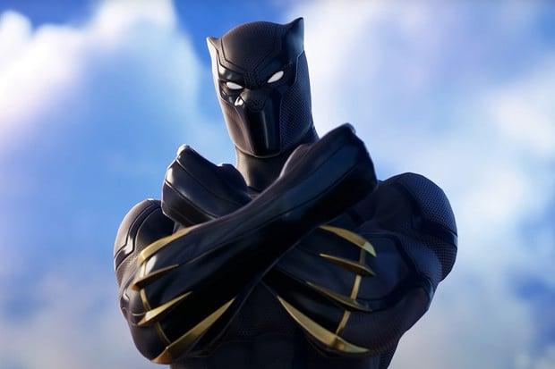 Ve Fortnite je nyní k dispozici Black Panther a další postavy z Marvel světa