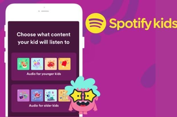 Díky Spotify Kids mohou rodiče sdílet se svými dětmi seznamy skladeb