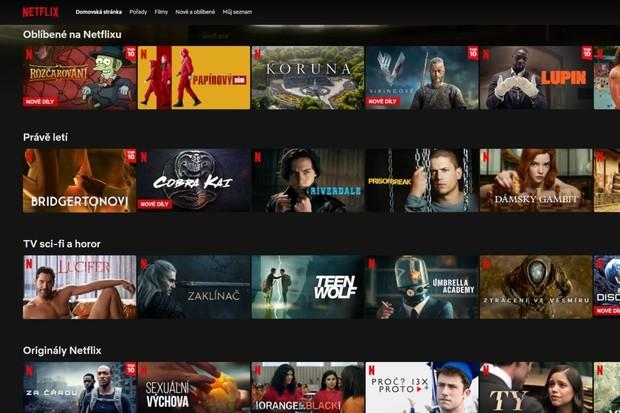 Netflix přináší novou funkci, inspiroval se u TikToku