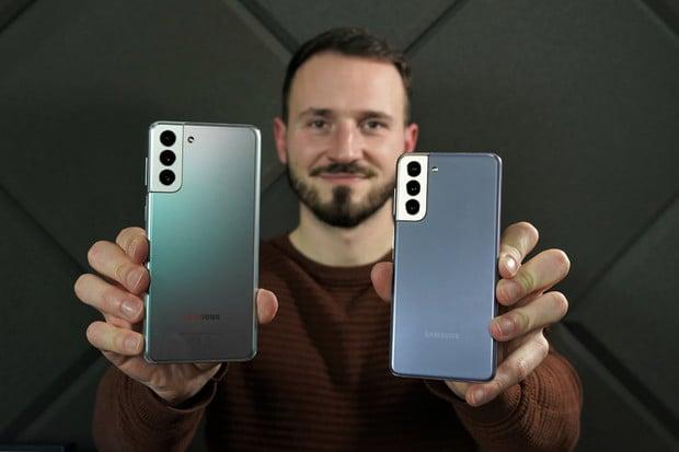 Samsung Galaxy S21 a S21+ s rovným displejem v redakci. Jaké jsou první dojmy?