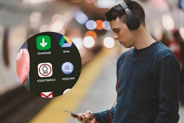 Aplikaci Pozor tramvaj! začíná po Praze testovat i Brno