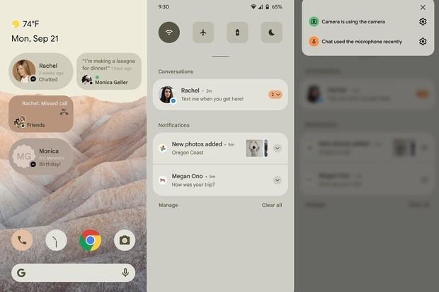 Jak bude vypadat Android 12? Podívejte se na první screenshoty