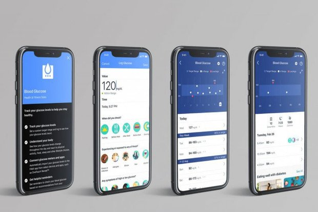 Měření glykémie bude díky aplikaci Fitbit jednodušší