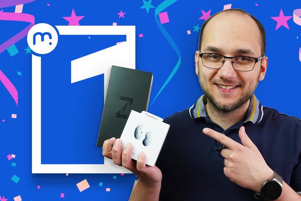 Výhercem první výroční soutěže o balíček společnosti Samsung se stává...