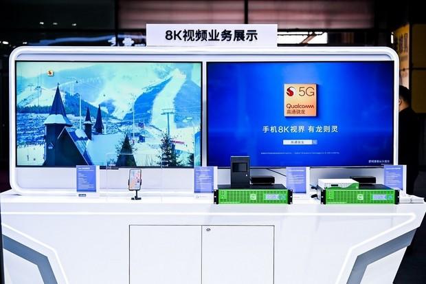Vivo ukázalo na veletrhu v Šanghaji streamování 8K videa přes 5G