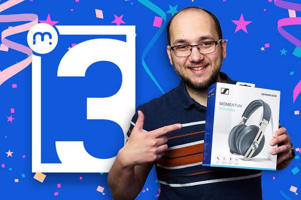 Vyhrajte špičková sluchátka Sennheiser Momentum Wireless 3 v naší nové soutěži!