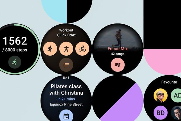 Wear OS chystá uživatelské dlaždice