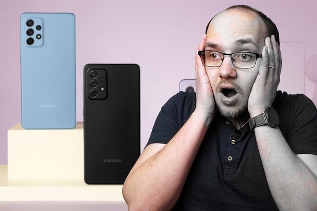 Samsung překvapil s A52, Apple ztrácí barvu