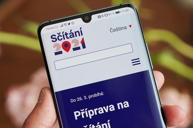 On-line formulář Sčítání lidu 2021 je opět funkční