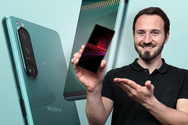 Vše o představených telefonech Sony Xperia 1 III, Xperia 5 III a Xperia 10 III