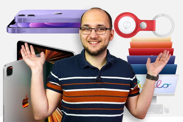 Přehled novinek Apple: iPad Pro, AirTag, iMac a další
