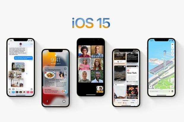 iOS 15 přináší vylepšený FaceTime, režim soustředění i chytré notifikace