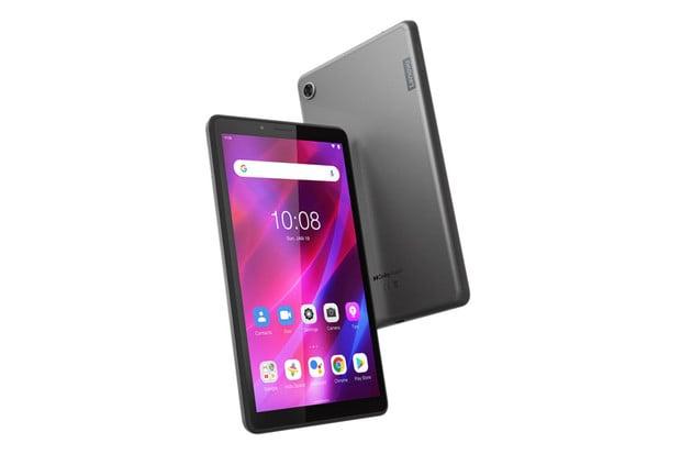 Lenovo Tab M7 (3. generace) je 7palcový tablet s miniaturní baterií
