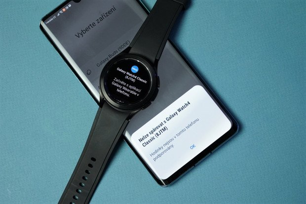Galaxy Watch4 lze spárovat s telefony Huawei a Honor (s GMS) pouze speciálním postupem
