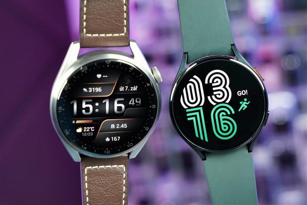 Srovnávací test vlajkových hodinek Samsung Galaxy Watch4 vs. Huawei Watch 3 Pro