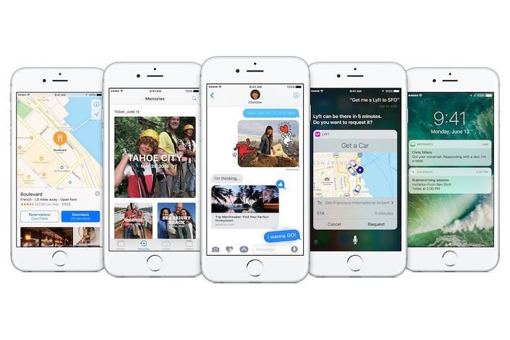 iOS 10 - přehled