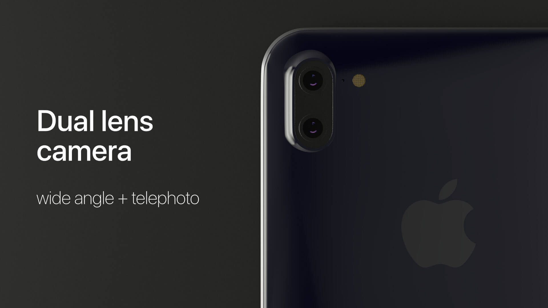 iPhone X dual lens
