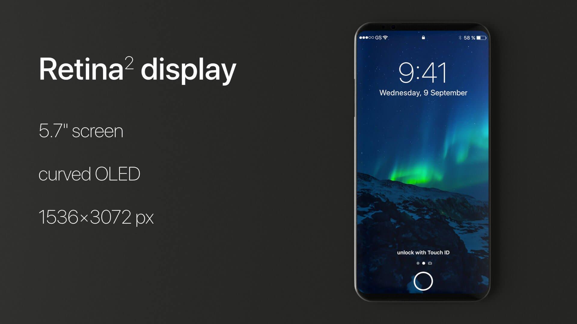iPhone X sreen