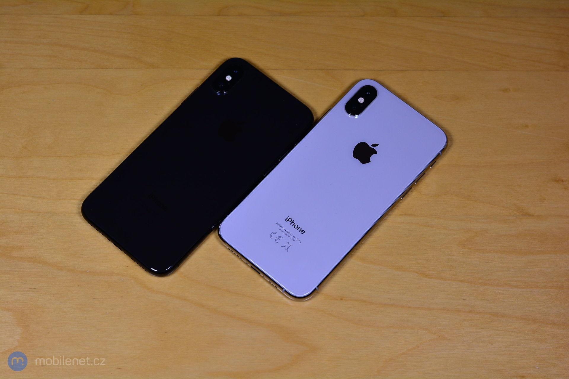 iPhone X vs iPhone Xs