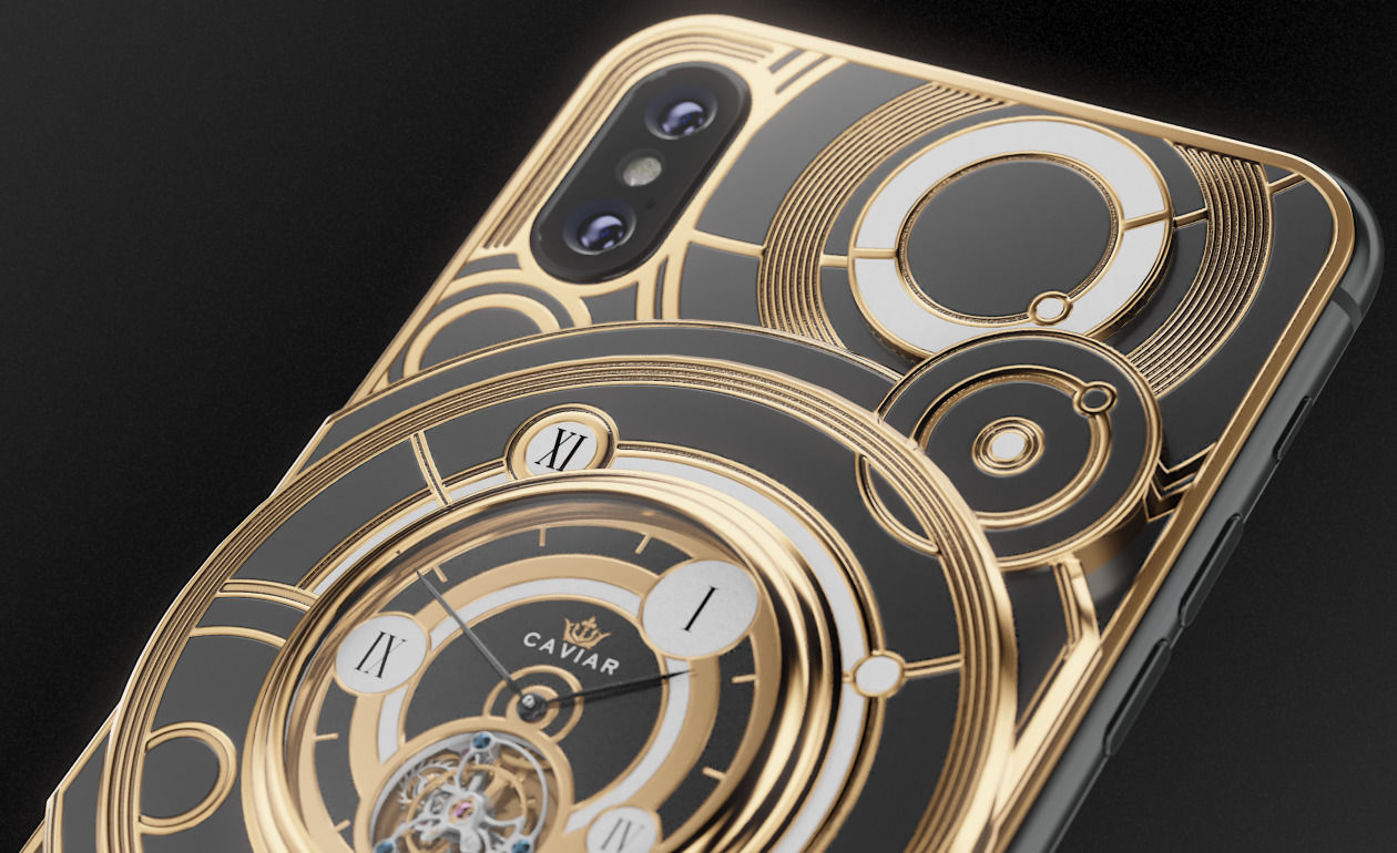 iPhone Xs Caviar Grand Complications