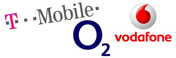 Kooperace T-Mobile, O2 a Vodafone