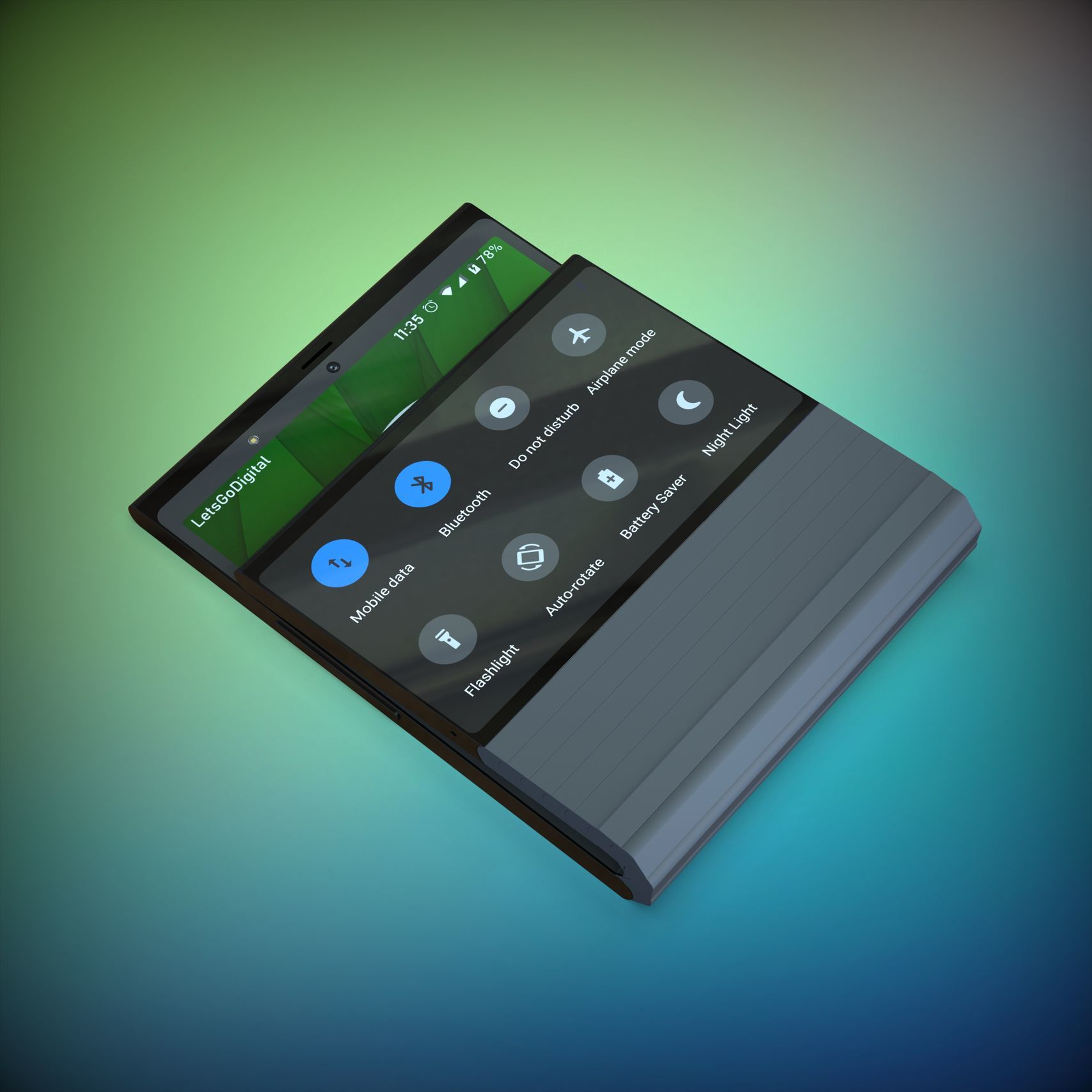 Lenovo patent ohebný telefon