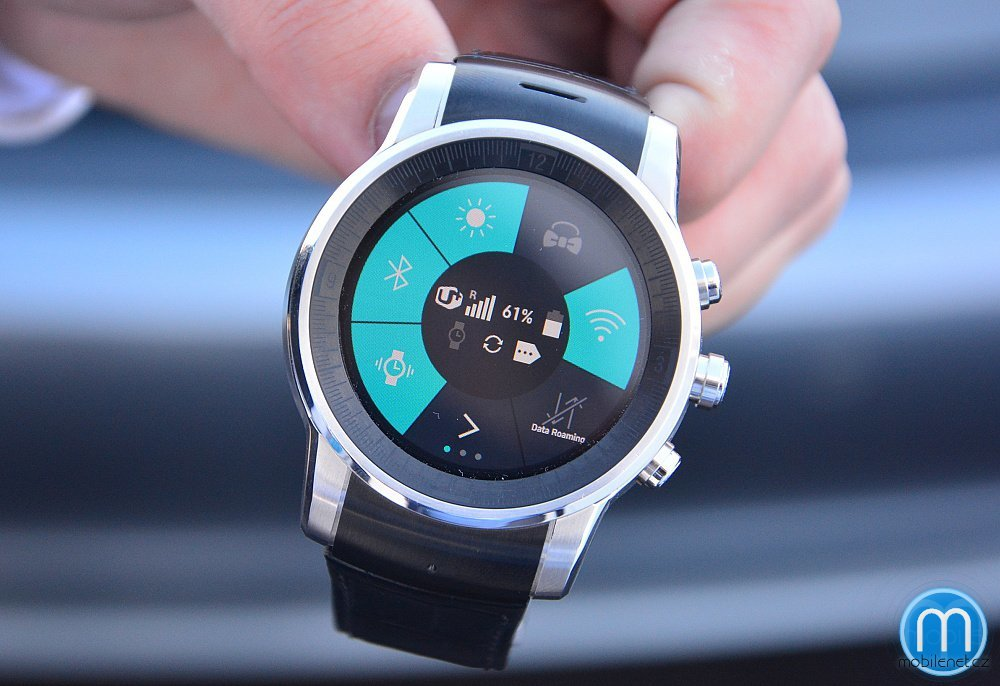LG G Watch R Audi